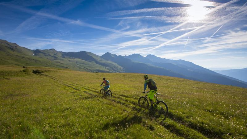 MTB ed E-bike in Val di Peio